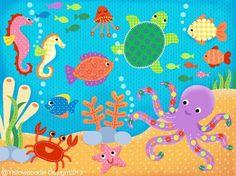 Sea world clip art free.