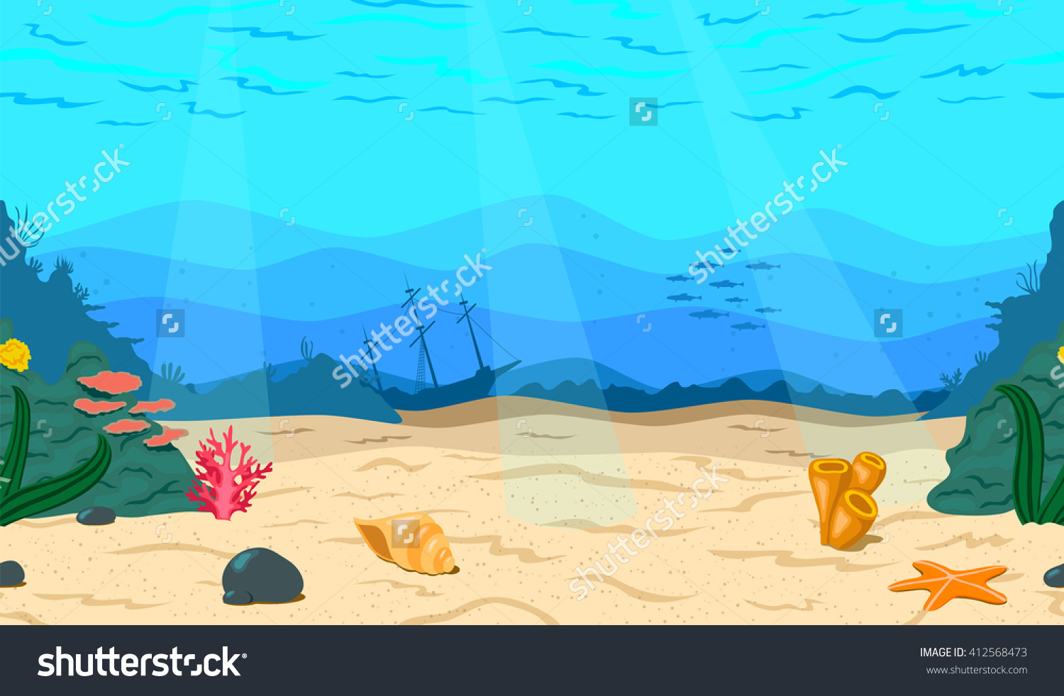 Showing post & media for Cartoon sea bed.