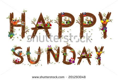 Happy Sunday Stock Photos, Royalty.