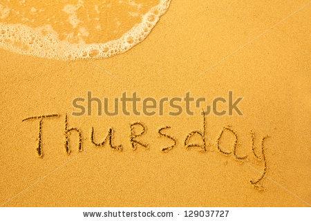 Friday Written Sand On Beach Texture Stock Photo 129037715.