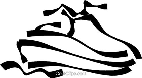 jet ski Royalty Free Vector Clip Art illustration.
