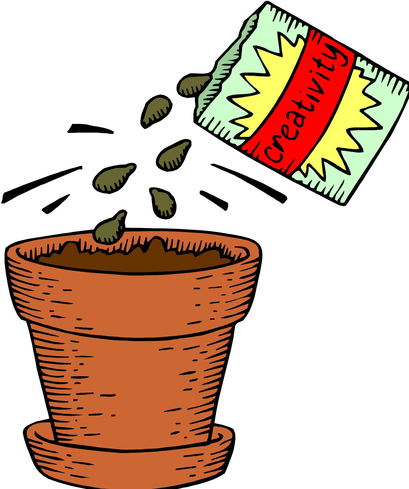 From Seed To Plant Clipart.