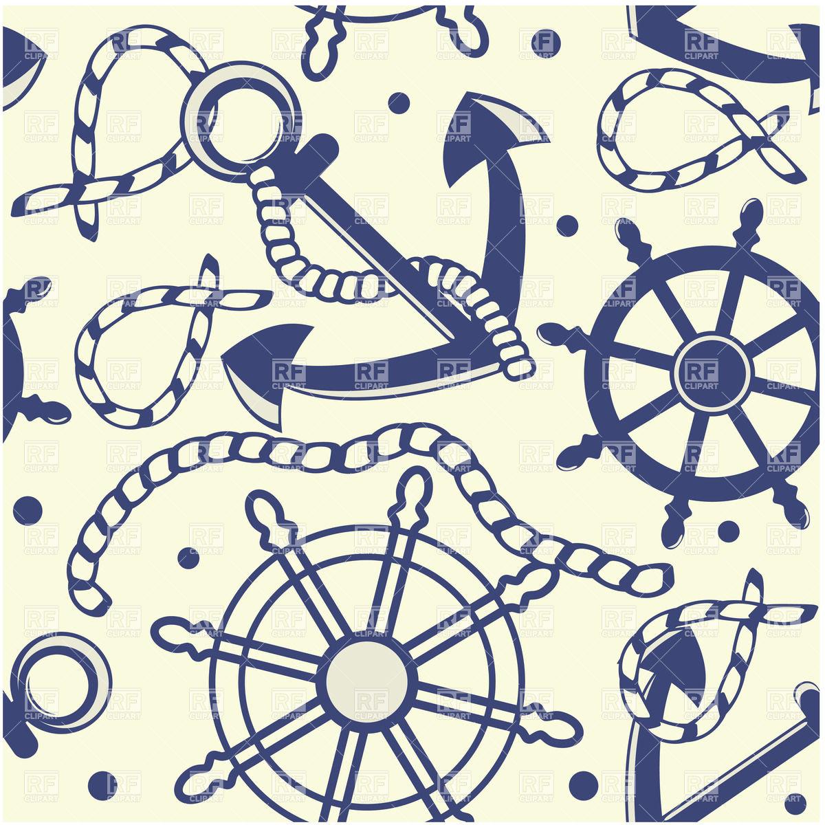 Sailing symbols.