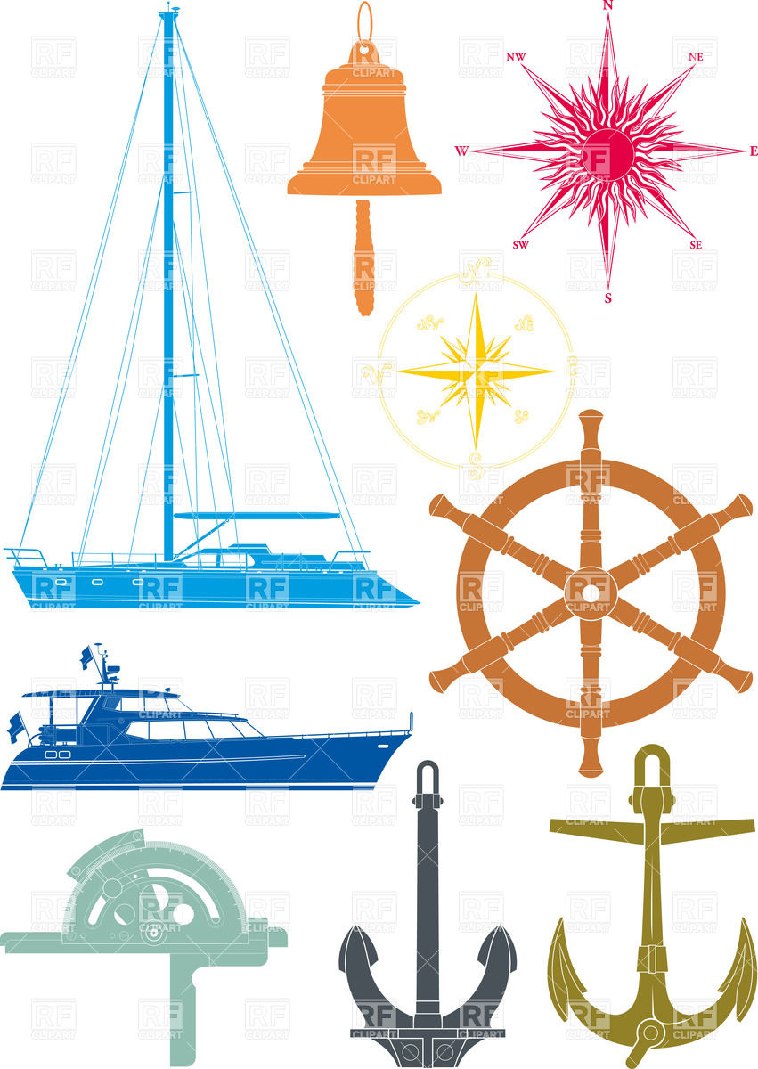 Marine and yachting and seafaring elements.