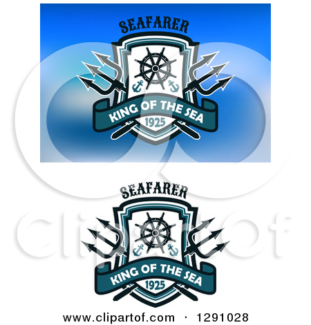 Royalty Free Trident Illustrations by Vector Tradition SM Page 1.