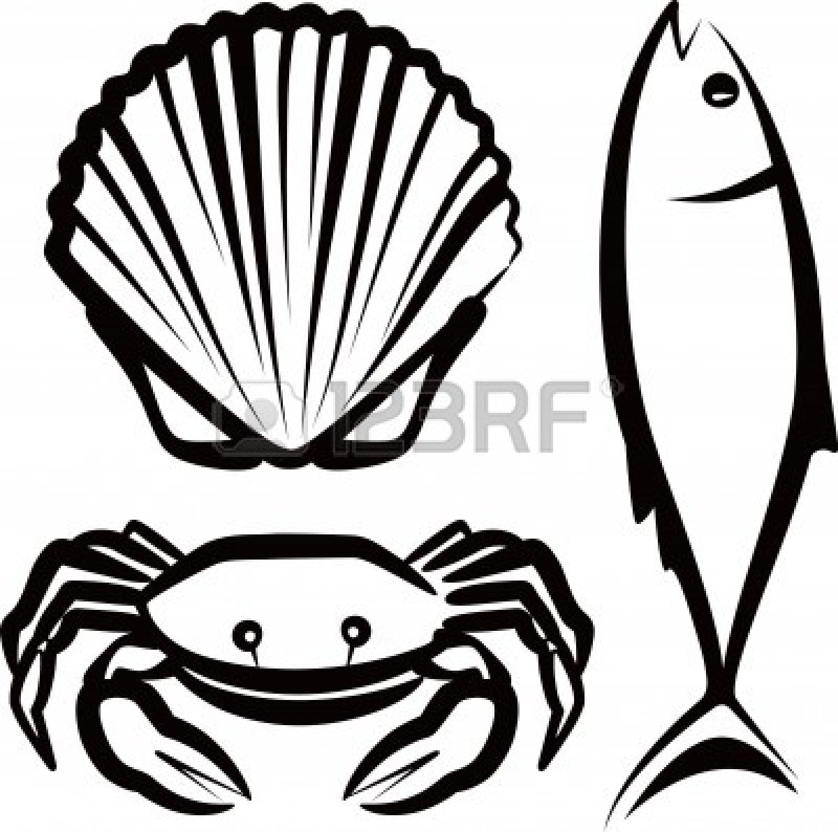 Seafood Clipart Free.