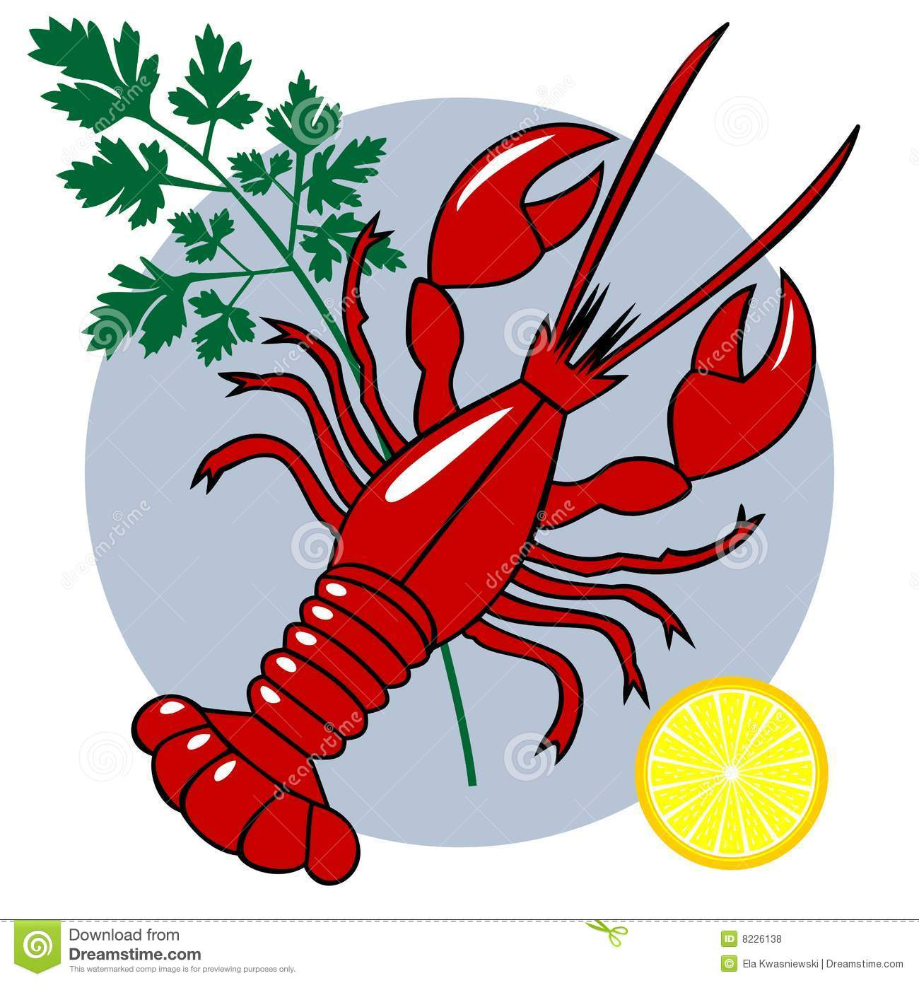 Seafood Clipart.