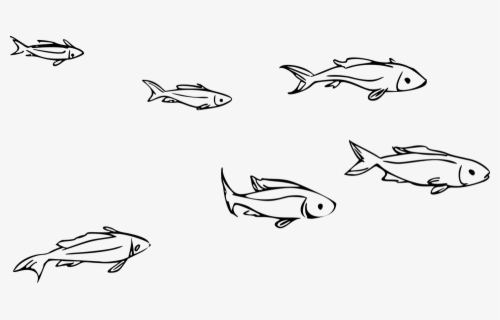Free Ocean Black And White Clip Art with No Background.