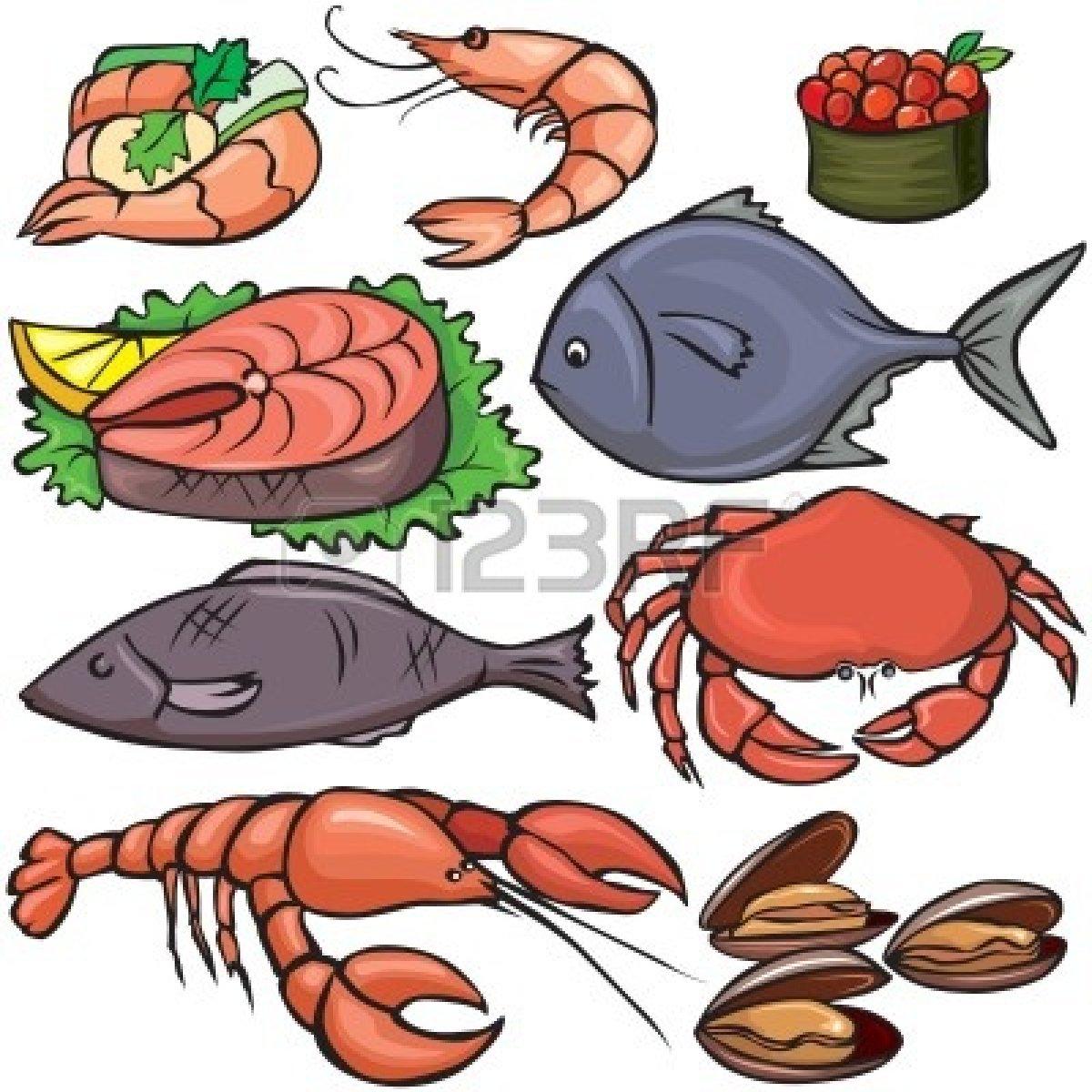 Seafood Dinner Clip Art...