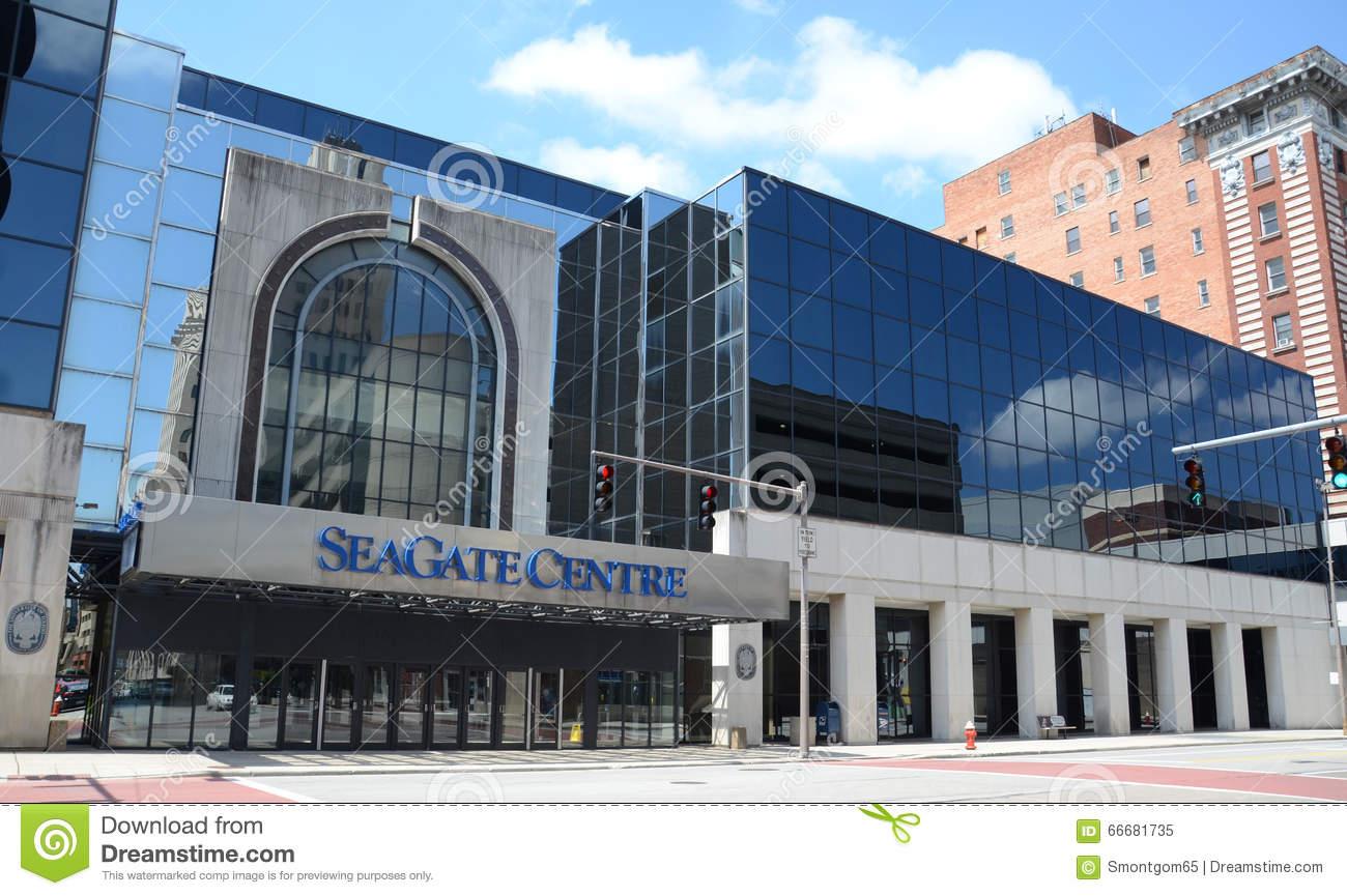 SeaGate Center Editorial Image.