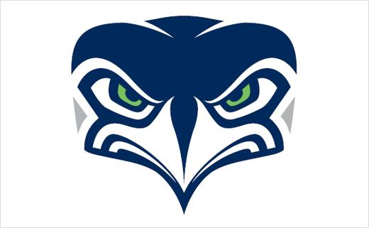 Seattle Seahawks Unveil New Alternate Logo Design.