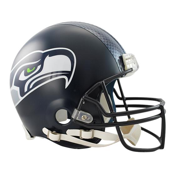 Seahawks Authentic Pro Line Helmet.
