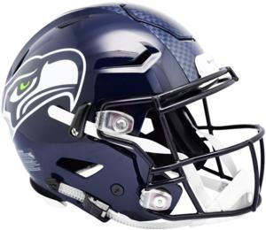 Seattle Seahawks Helmet.