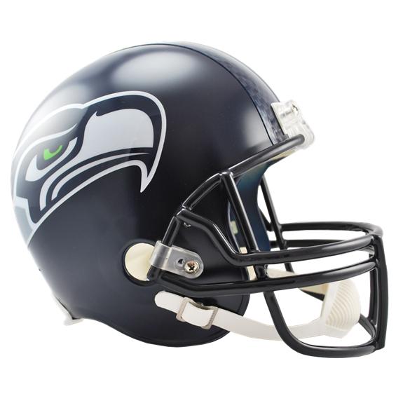 Seahawks Replica Helmet.