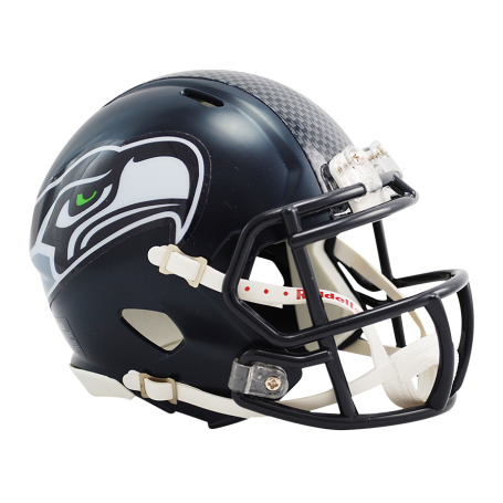 Seattle Seahawks Replica Mini Speed Helmet.