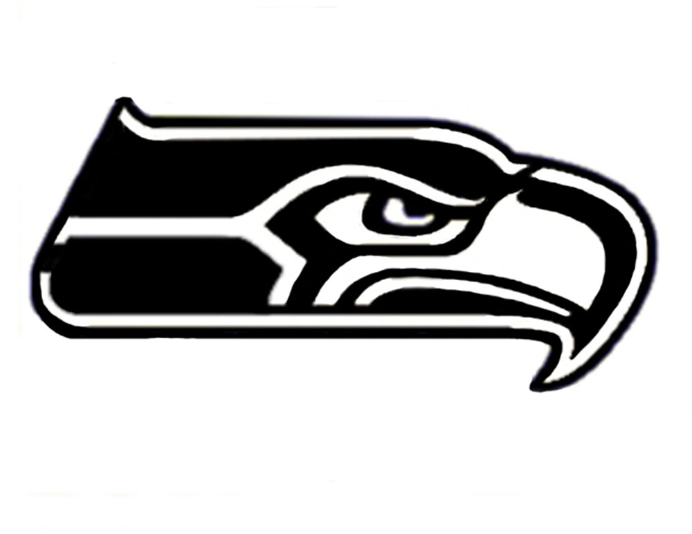 Free Seattle Seahawks Logo Black And White, Download Free.