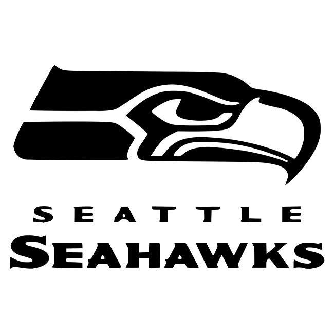 Seattle Seahawks Logo Stencil.