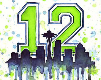 Seattle Seahawks Super Bowl Clip Art.