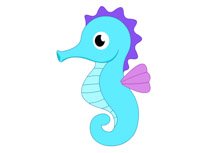 Search Results for seahorse clipart.