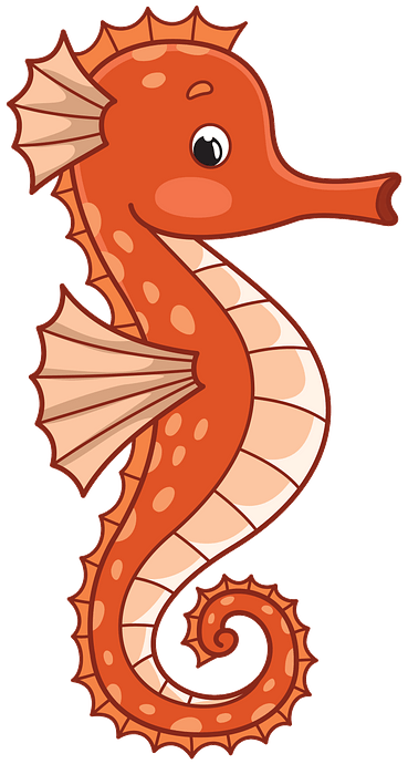 Seahorse clipart. Free download..