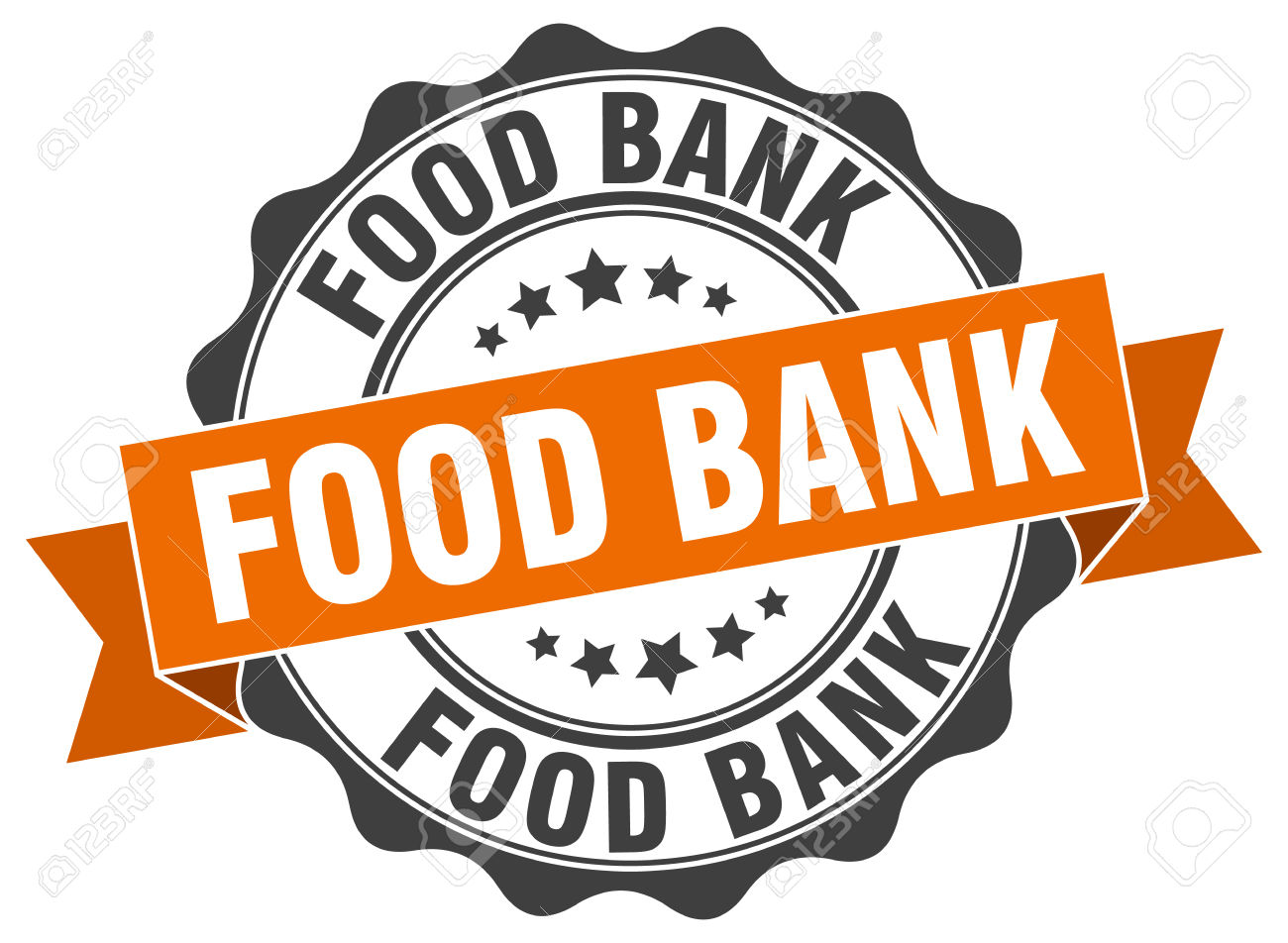 Food Bank Stamp. Sign. Seal Royalty Free Cliparts, Vectors, And.