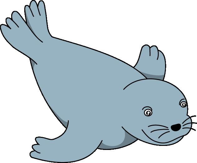 polar seal clip art.