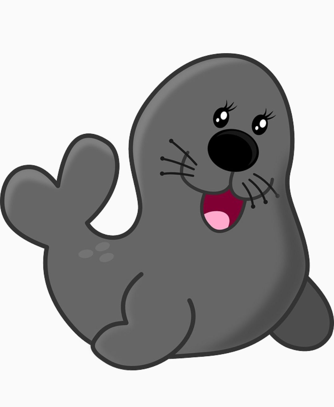 Seal ClipArt ~ Stickers ~ Scrapbook ~ Printables.