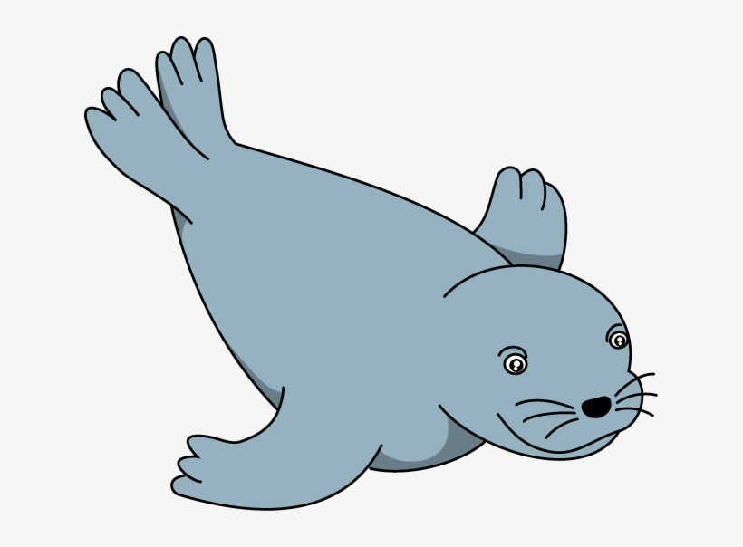 Sea Lion Clip Art.