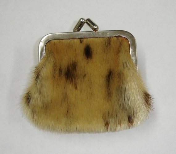 Authentic Vintage Seal Skin Coin Purse by TabooMateria on Etsy.