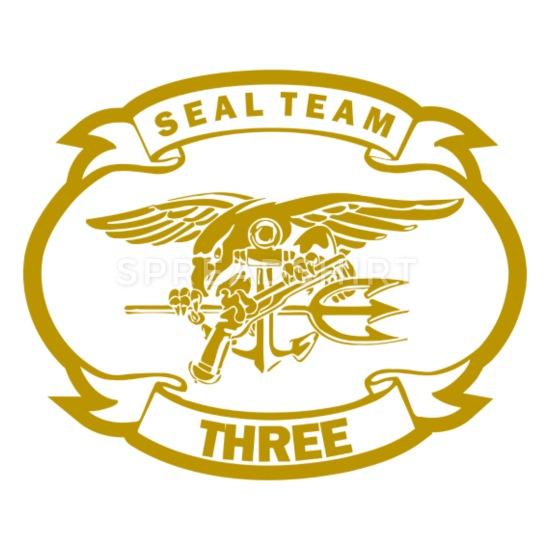 U S ARMY SEAL TEAM THREE 3 Mouse pad Horizontal.