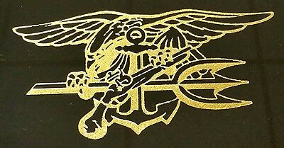 NAVAL SPECIAL WARFARE Command SEAL Team 6 SEAL Trident Logo.