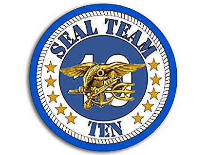 Amazon.com: American Vinyl Round Seal Team 10 Logo Sticker.
