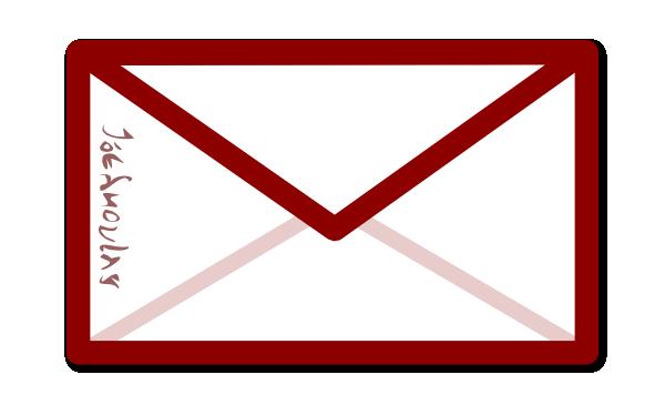 Red Sealed Envelope Clip Art at Clker.com.