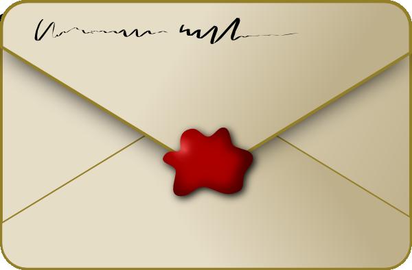 Sealed Envelope Clip Art at Clker.com.