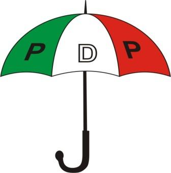Police seal off PDP convention venue.