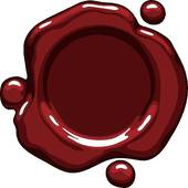 Clipart of Wax seal k6271540.