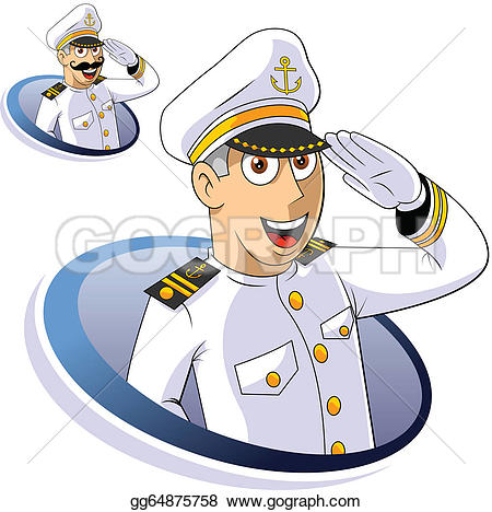 Sea Captain Clip Art.