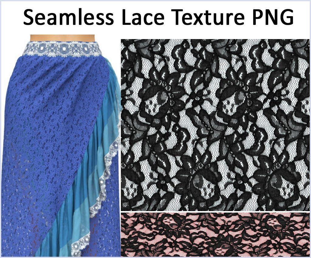 Marvelous Designer Lace Texture Free Download.