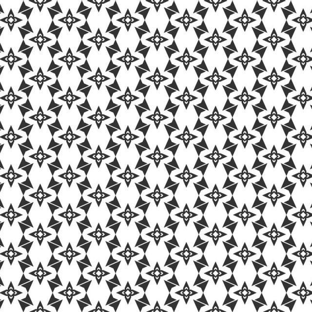 Abstract Geometric Seamless Pattern Repeating Geometric.