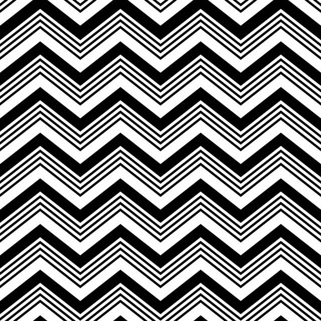 Seamless Pattern Of Chevron Zigzag Modern Scandinavian.