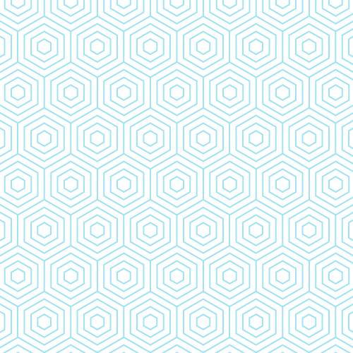 Hexagons Seamless Pattern.