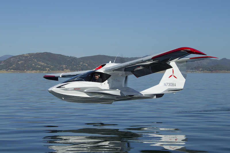 Flying Icon's A5 LSA seaplane — General Aviation News.