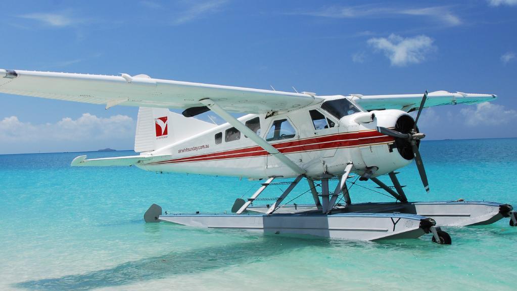 Seaplane trial for Rottnest Island.