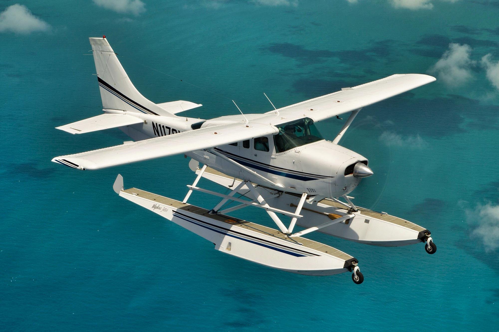 Salt Island Seaplanes.