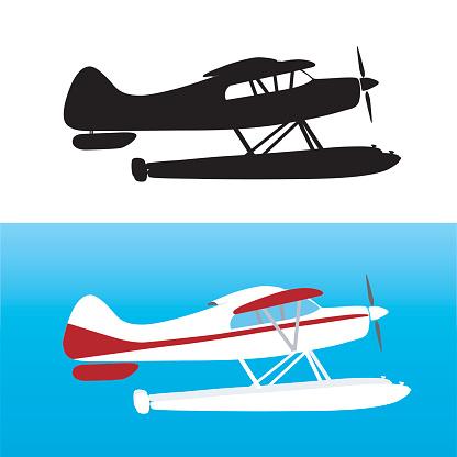 Clipart seaplane.