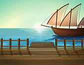 Sea Port Clip Art.
