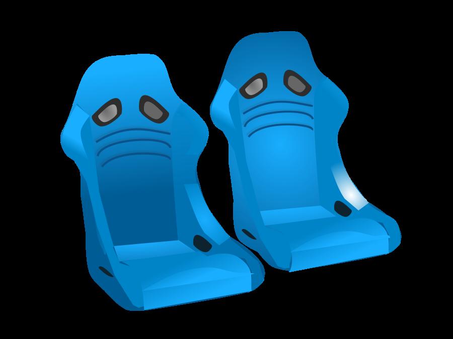 Racing seat Clipart, vector clip art online, royalty free design.
