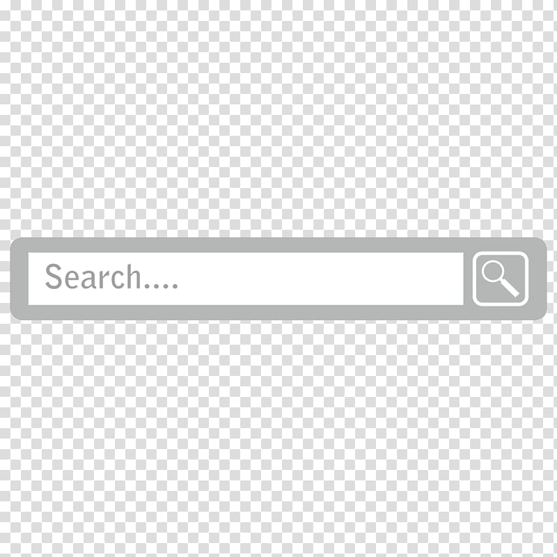 Search icon, Square Angle, Creative search box transparent.