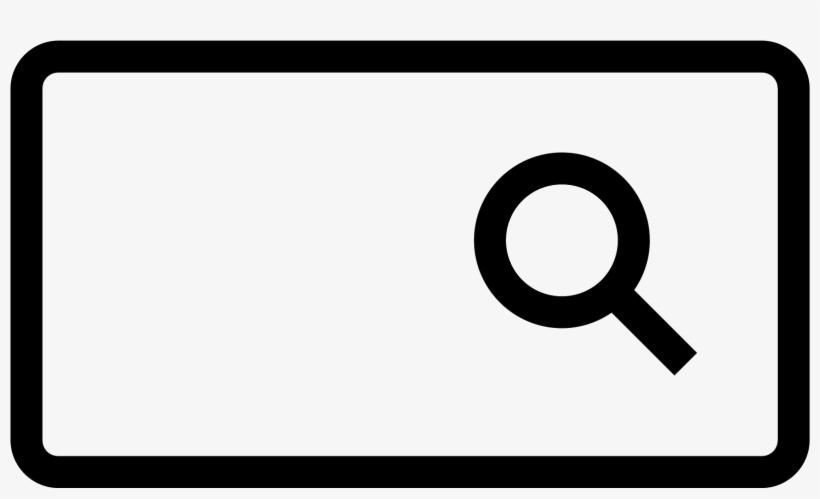 Search Bar Icon.