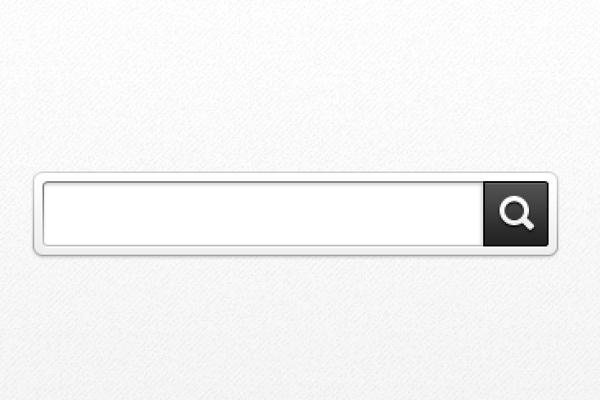 Search Bar Icon Vector #126274.